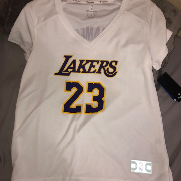 official photos 9b000 04f88 Authentic Lebron James Women's Lakers Jersey NWT
